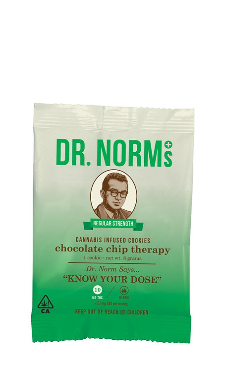 Dr. Norm's - Chocolate Chip Therapy - Single Cookie (10mg THC)