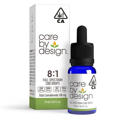 Care by Design - 8:1 CBD:THC Sublingual Drops (15 ml)
