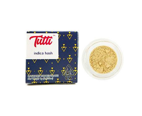 Tutti - Indica Hash (1 Gram)