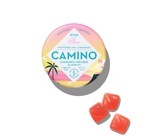 Camino - Watermelon Lemonade Gummies (100mg THC)