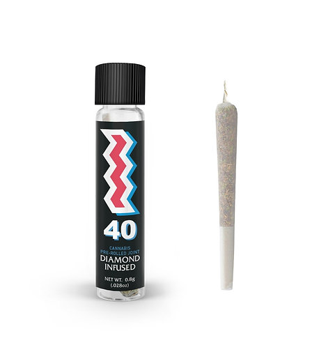 "St. Ides - ""40"" Diamond Infused Pre-Roll - Wifi Cake (SH) (0.8g)"