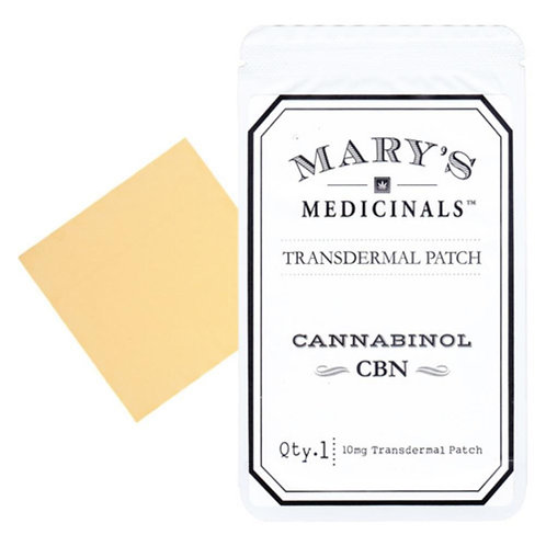 Mary's Medicinals - CBN Transdermal Patch (~10mg CBN / 1mg CBD)