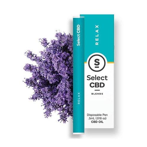Select CBD - 'Relax' Lavender Disposable (1/2 Gram)