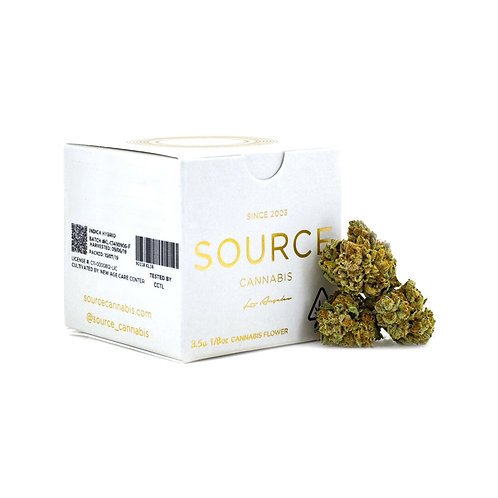 Source Cannabis - King Louis OG (IH) - 1/8 Ounce