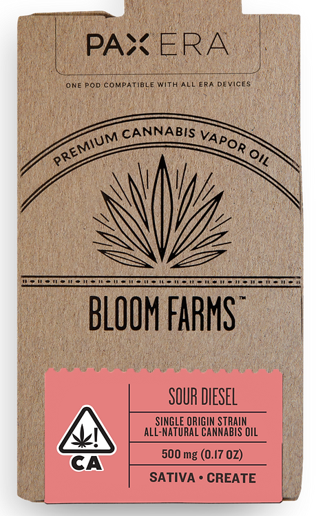 Bloom Farms - PAX Era Pod - Single Origin Sativa (1/2 Gram)