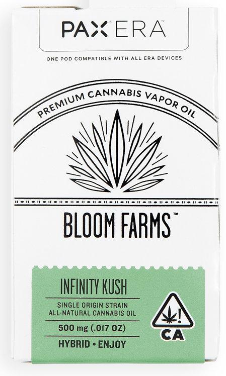 Bloom Farms - PAX Era Pod - Single Origin - Infinity Kush (H) (1/2 Gram)