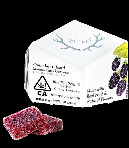 Wyld - Marionberry Gummies (I) (100mg THC)