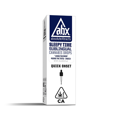 ABX - Sleepy Time - Sublingual Drops (15ml) (450mg THC + 35mg CBD)