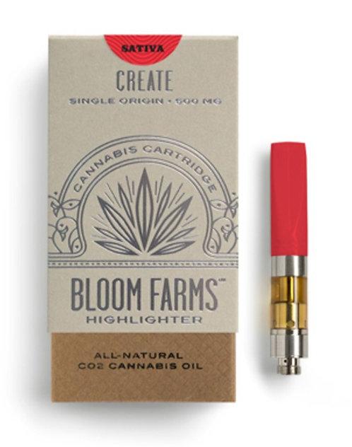 Bloom Farms - Single Origin Cartridge - Silver Haze (S) (1/2 Gram)