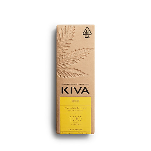 KIVA - Churro Milk Chocolate Bar (100mg THC)