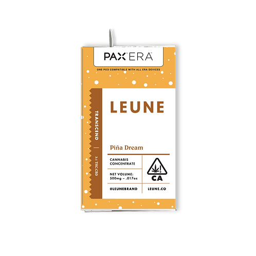 LEUNE - PAX Era Pod - Pina Dream (High CBD) (1/2 Gram)