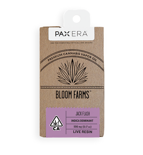 Bloom Farms - PAX Era Pod - Live Resin - Jack Flash (I) (1/2 Gram)