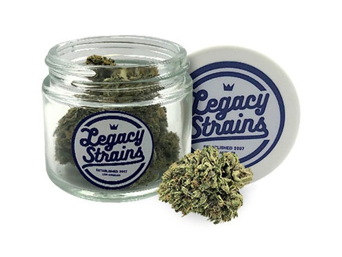 Legacy Strains - Black Haze (H) - (1/8 Ounce)