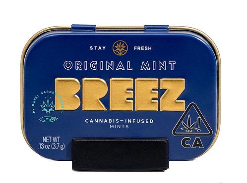 Breez - Original Mint Tablets (100mg THC)