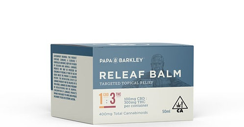 Papa & Barkley - 1:3 Releaf Balm (100mg CBD : 300mg THC / 50ml)