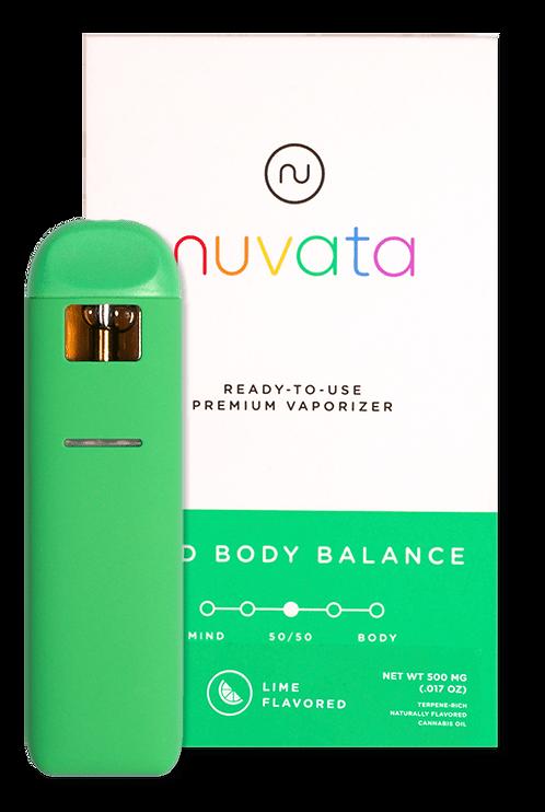 Nuvata - Mind Body Balance - Lime (1/2 Gram)