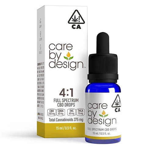 Care by Design - 4:1 CBD:THC Sublingual Drops (15 ml)