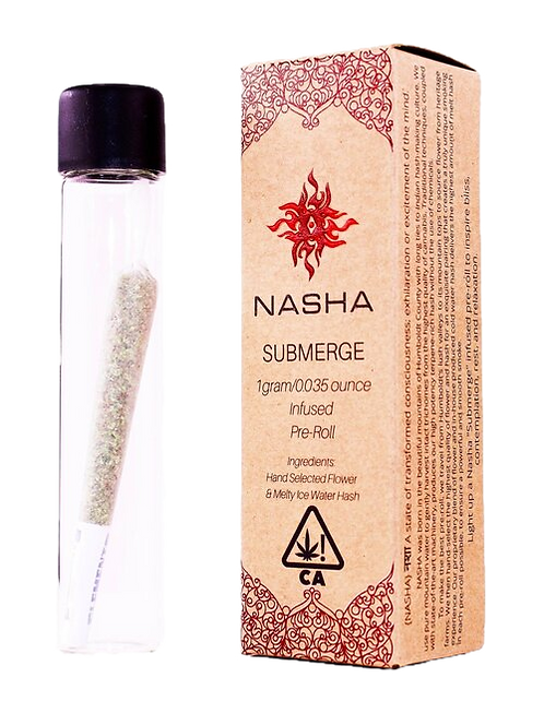 Nasha - Submerge (IH) Hash-Infused Single Pre-Roll (1 Gram)