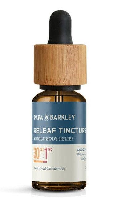 Papa & Barkley - CBD Rich - 30:1 Releaf Tincture (≈900mg CBD : 30mg THC / 30ml)