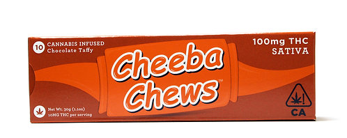 Cheeba Chews - Sativa (100mg THC)