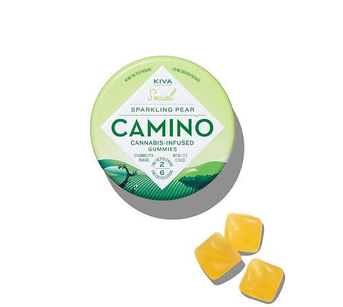 Camino - Sparkling Pear Gummies (40mg THC + 120mg CBD)