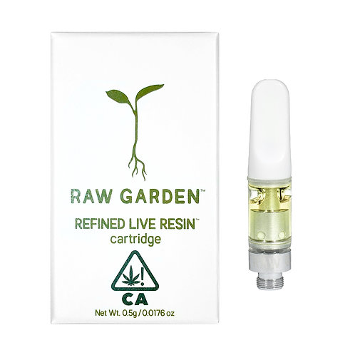 Raw Garden - Summer Haze (SH) Refined Live Resin Cartridge (1/2 Gram)