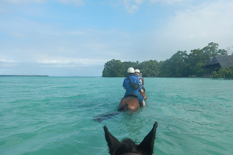 Horse Back Riding on Santo