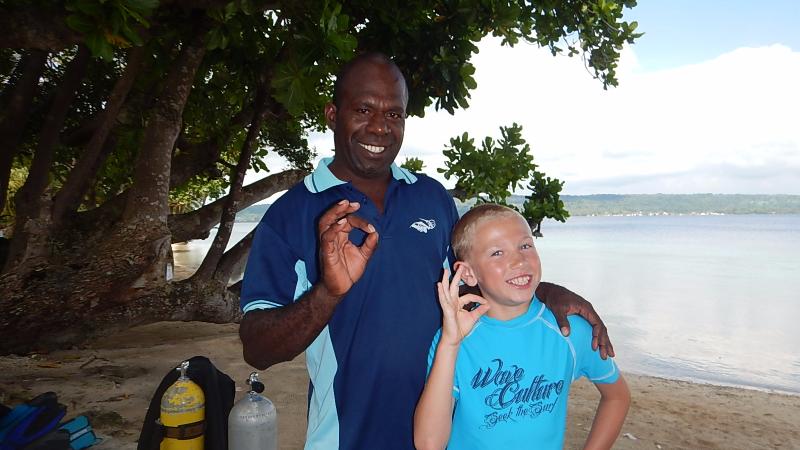 Alfred (Santo Island Dive) & Alex