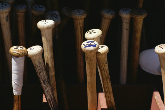 A 2x4 and a Baseball Bat