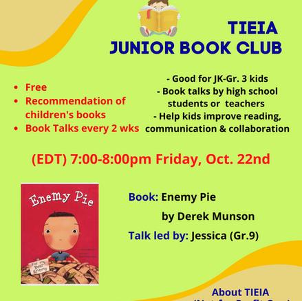 TIEIA Junior Book Club