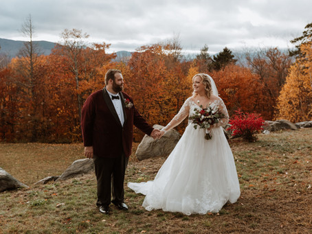 Beautiful Maine Mountain Wedding at SkiEsta Airbnb