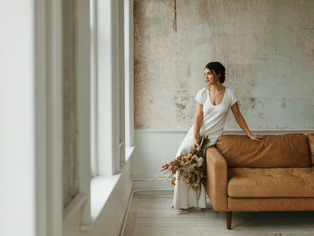 Modern Bridal Editorial | Simple Elegance