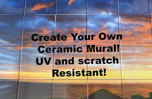 Custom Ceramic Mural