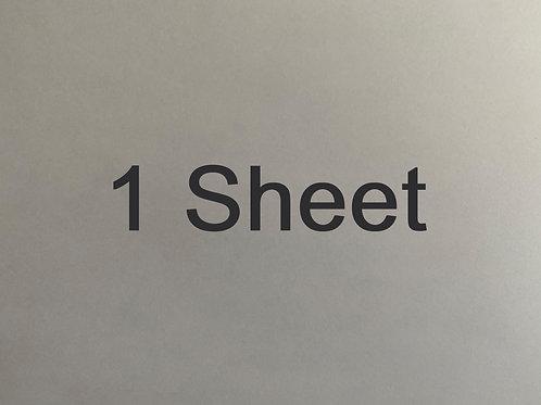 1 Sheet