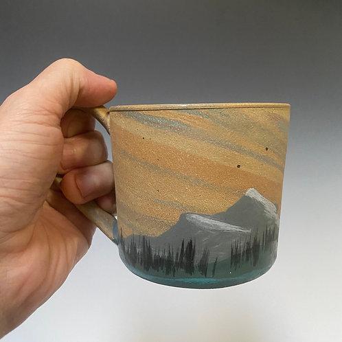 PNW Stratascape Series Mug - Hand Painted