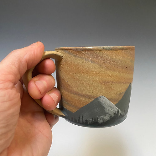 PNW Stratascape Series Mug - Hand Painted