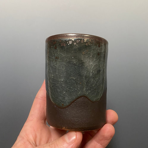 Cup with local clay glaze