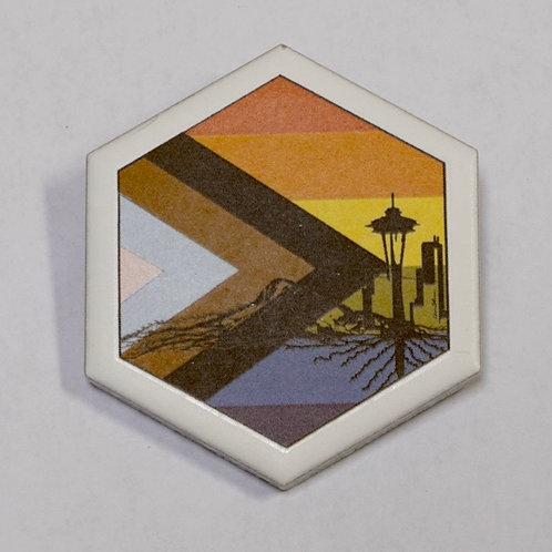 SEATTLE PRIDE PINS