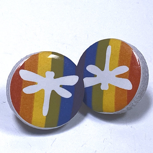 DRAGON FLY PRIDE PINS (OUTLINE)
