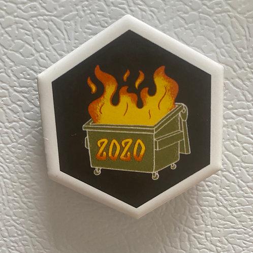 Dumpster Fire Magnet