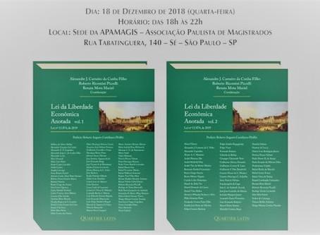 Sócio de LL Advogados publica artigos em dois livros sobre a Lei da Liberdade Econômica