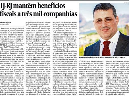 Sócio de LL Advogados é entrevistado pelo jornal Valor Econômico