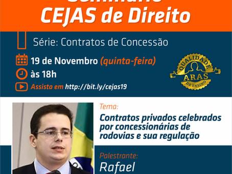 Sócio de LL Advogados palestra sobre Contratos de Concessão de Rodovias em seminário