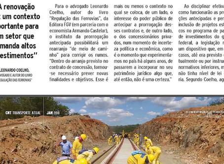 Confederação Nacional do Transporte entrevista sócio de LL Advogados