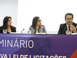 Sócio de LL Advogados palestra na OAB Nacional sobre a Nova Lei de Licitações e Contratos