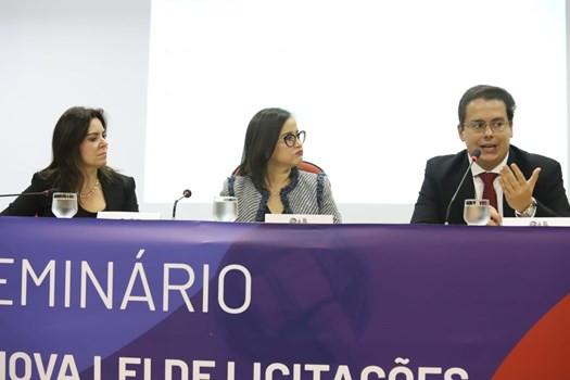 Rafael Véras palestra na OAB Nacional sobre a Nova Lei de Licitações e Contratos