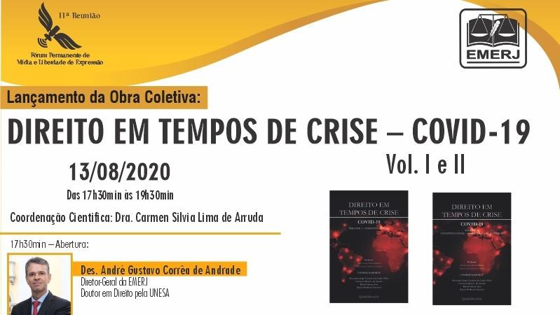 Obra coletiva com artigos de Rafael Véras e Leonardo Coelho é lançada na Emerj