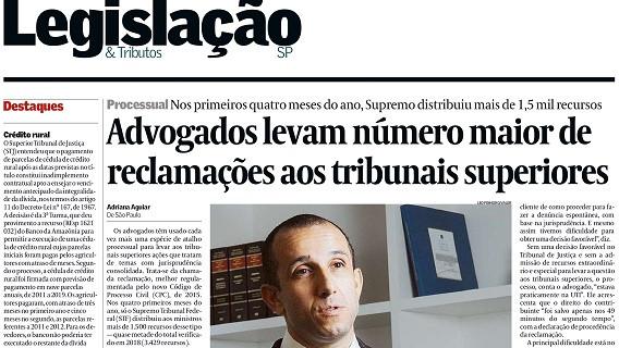 Rodrigo Bueno, sócio de LL Advogados, no Valor Econômico