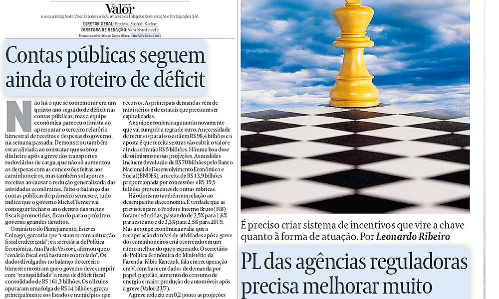Artigo publicado hoje no Valor Econômico pelo sócio de LL Advogados Leonardo Coelho