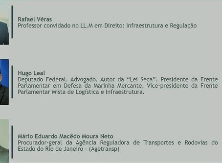 Sócio de LL Advogados palestra na FGV com deputado federal e procurador da Agetransp